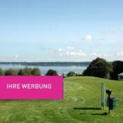 Golfplatzwerbung Fangnetz 17